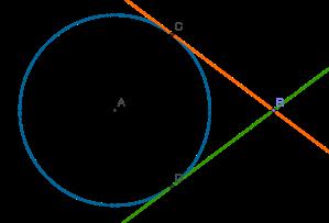 circumferència i tangents